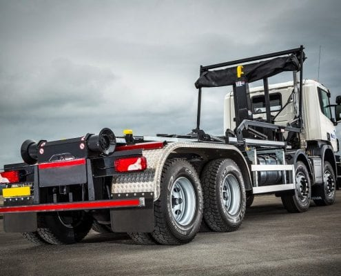 Hook Loader Truck Hire