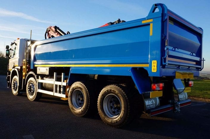 Tipper Grab Truck Hire