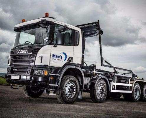 Scania Hook Loaders