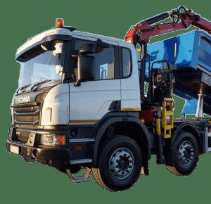 Tipper Grab Truck Hire