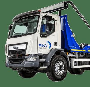 Skip Loader Truck Rental UK