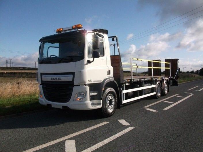 Plant Transporter Truck Hire